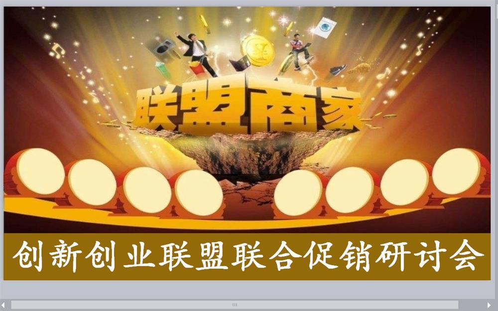邵阳创新创业联盟第(一)期联合促销研讨会