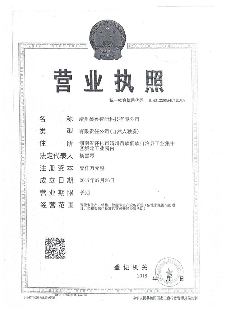 靖州鑫兴智能科技有限公司