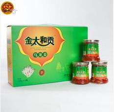金太和贡湖南郴州桂阳特产乌龙姜6瓶罐头礼盒