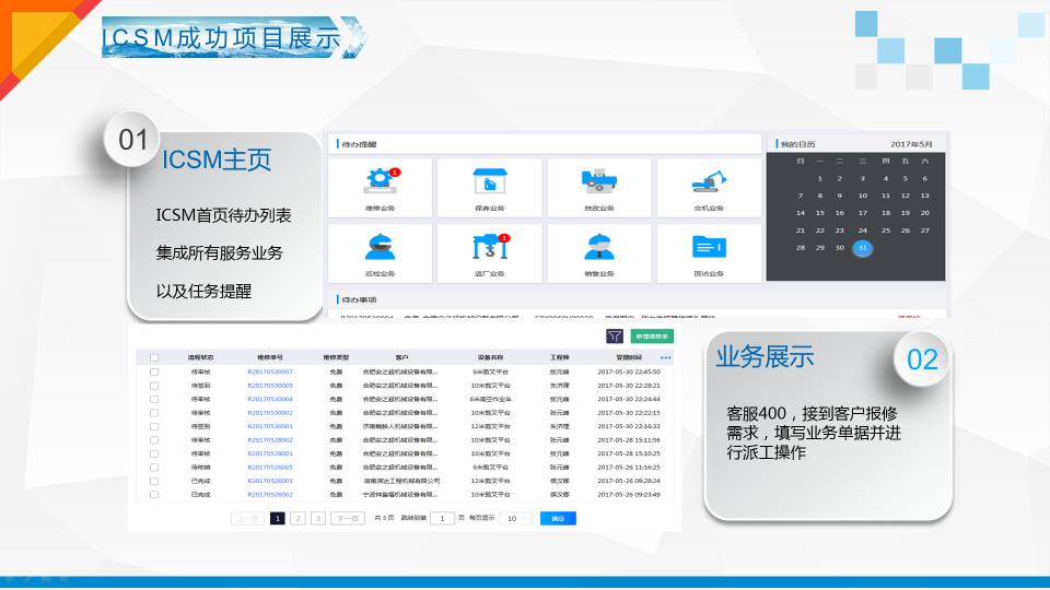 ICSM(智能服务管理系统)