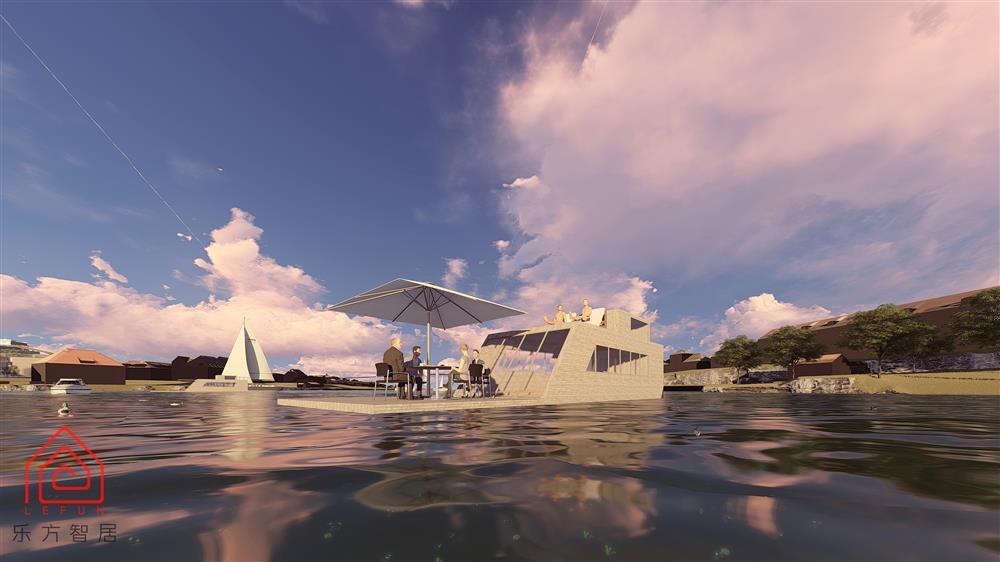 水上漂浮度假屋