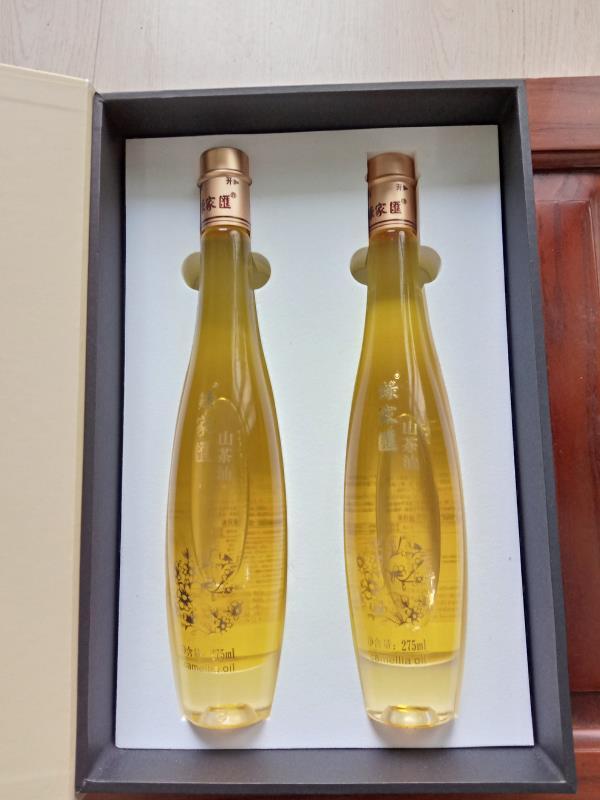 双瓶装小礼盒茶籽油
