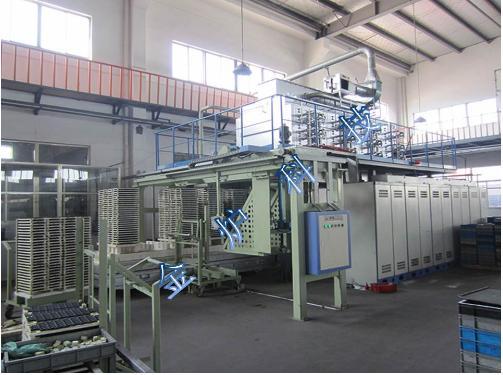RBD14-12M人工智能可控气氛软磁铁氧体烧结钟罩式电阻炉
