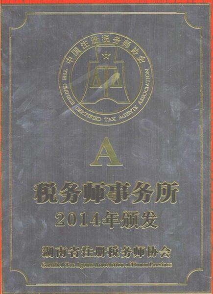 税务师事务所A级