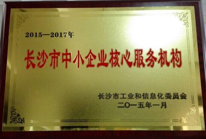 长沙市中小企业核心服务机构