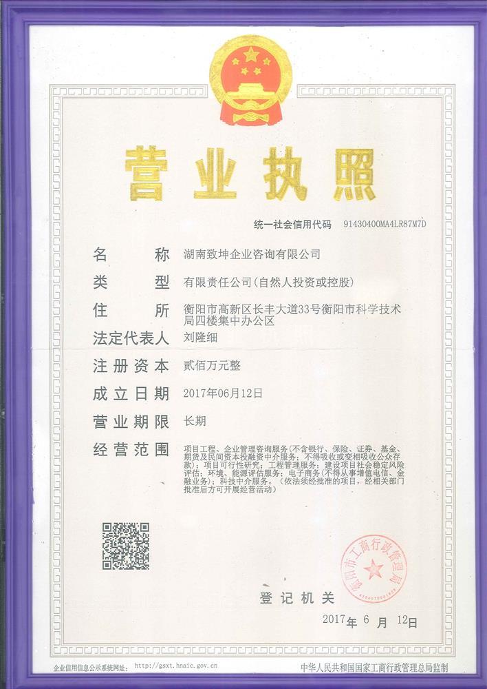 湖南致坤企业咨询有限公司