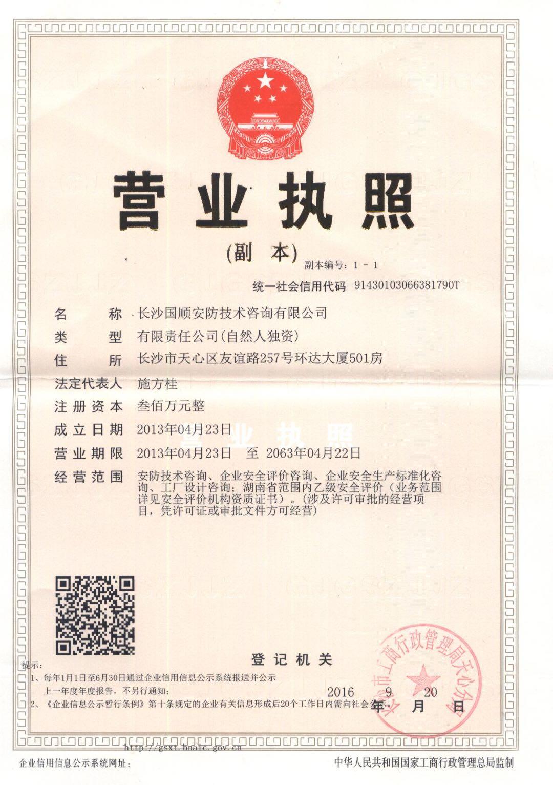 湖南国顺安防技术咨询有限公司