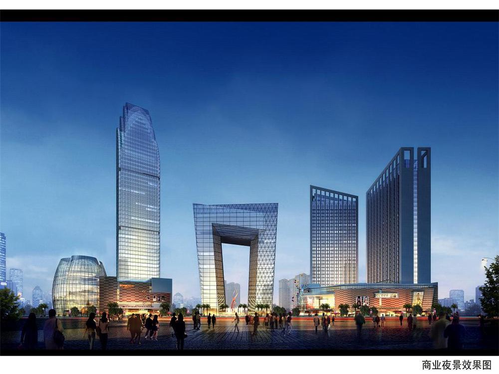 衡阳市国贸中心都市综合体