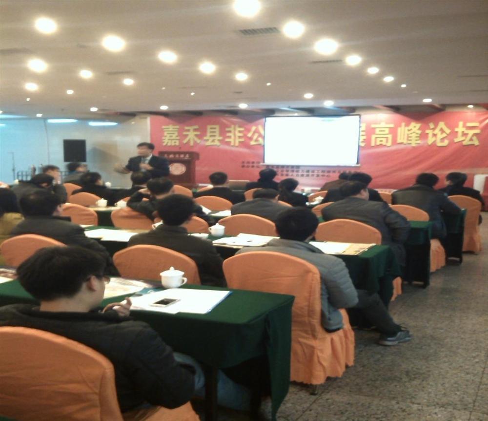 首届嘉禾县非公有企业发展高峰论坛