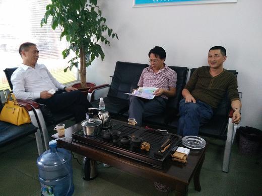 赴桂阳县蓉城中小企业服务有限公司参观交流