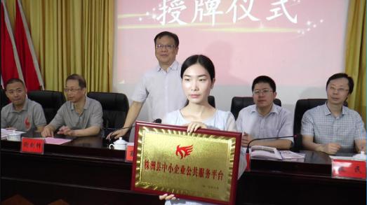 株洲县中小企业公共服务平台正式启动