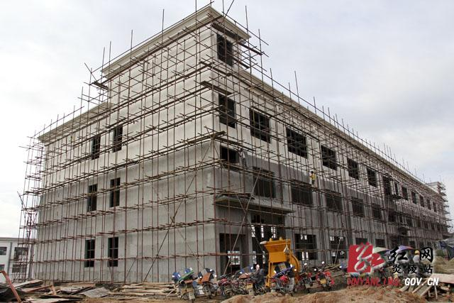 炎陵创业园六大项目同日开工