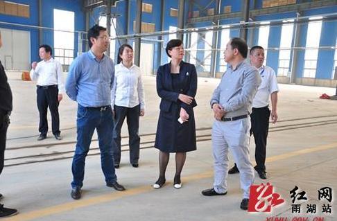刘永珍书记走访园区企业解难题