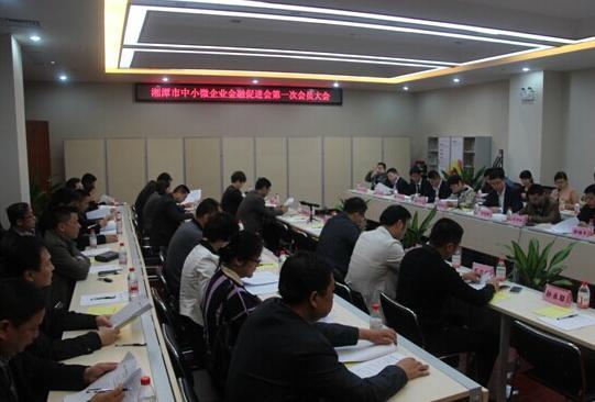 湘潭市中小微企业金融促进会成立