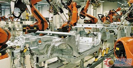 中国制造业迎来机器人时代?