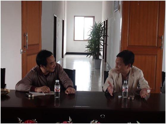 湖南省乡镇企业局副局长文山彪到华容县进行调研活动