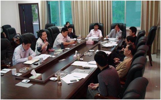 省农业厅、经作处一行对华容棉花产业进行调研