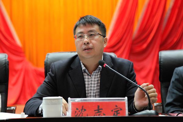 邵东县委副书记、代县长沈志定就下阶段工作进行安排