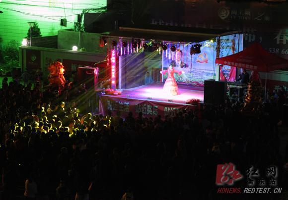 衡东县群众文化巡回演出活动正式启动