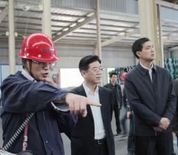 市委书记李亿龙为松木经济开发区发展升级指明路径