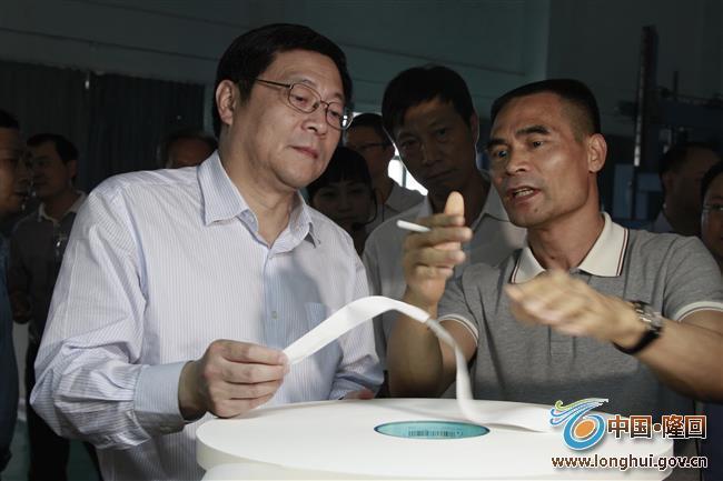 湖南省委副书记、省长杜家毫到隆回考察调研