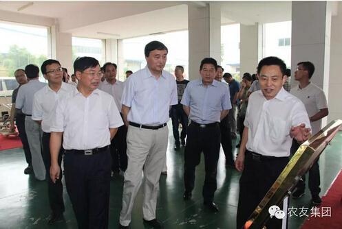省人大常委会副主任徐明华一行来我集团调研