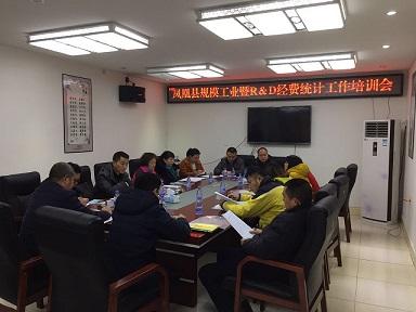 凤凰县经信局召开中小企业统计人员工作系列培训会