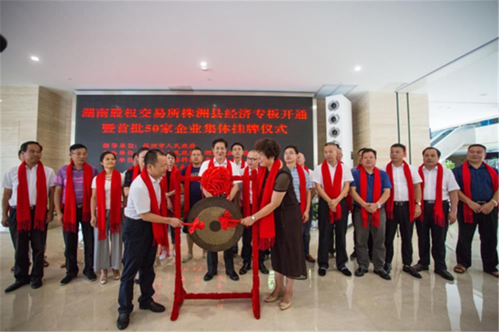 湖南股权交易所株洲县经济专板开通