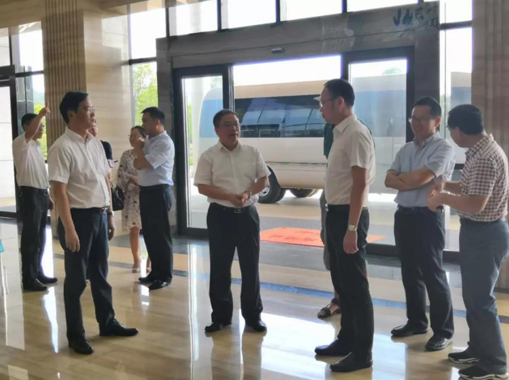 湖南省科技厅彭子晟一行来我区现场调研创建省级高新区工作